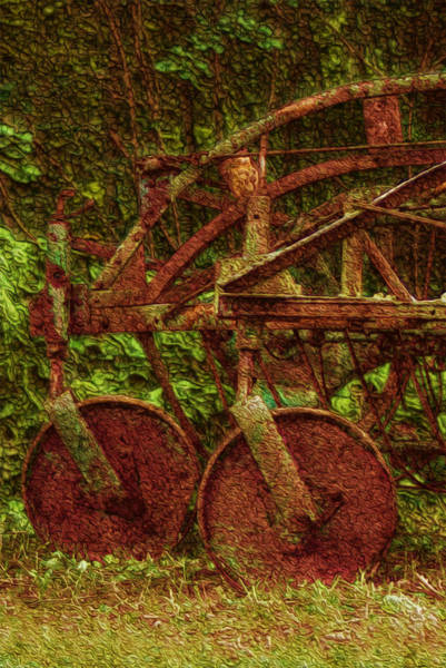 Wall Art - Painting - Vintage Farm Equipment by Jack Zulli