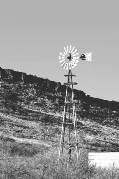 Photograph - Vintage Farm Windmill by Christine Till