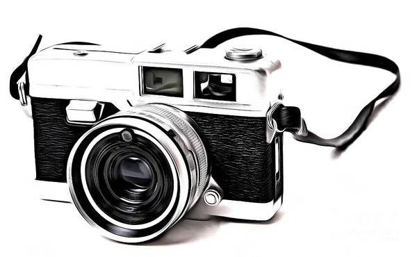Photograph - Vintage Film Camera Pop by Edward Fielding
