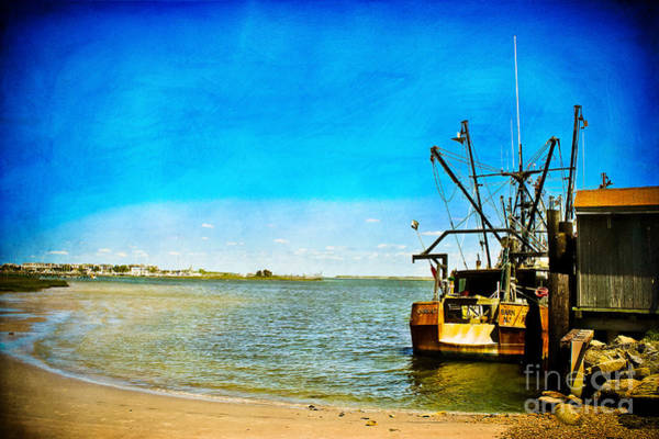 Wall Art - Photograph - Vintage Fishing Boat by Colleen Kammerer