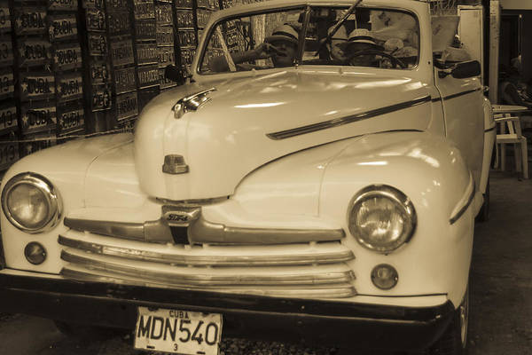 Photograph - Vintage Ford by Nick Mares
