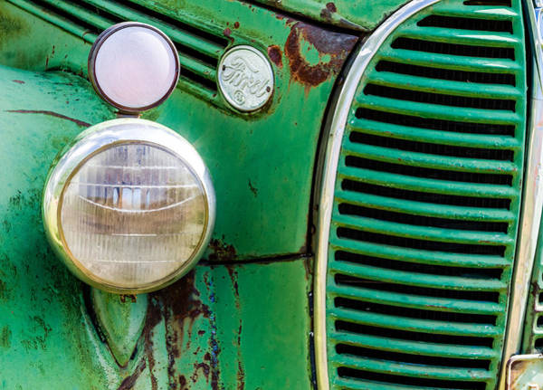 Photograph - Vintage Ford by Teri Virbickis