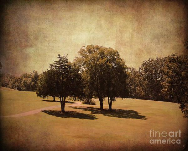 Photograph - Vintage Golf Course by Jai Johnson