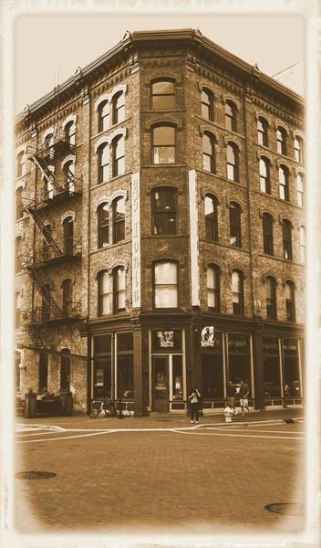 Photograph - Vintage Grand Rapids Michigan Ionia by Dan Sproul