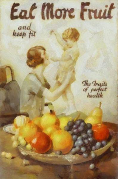 Fitness Mixed Media - Vintage Health Ad by Dan Sproul