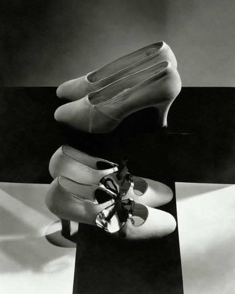 Pair Photograph - Vintage High Heels by Edward Steichen