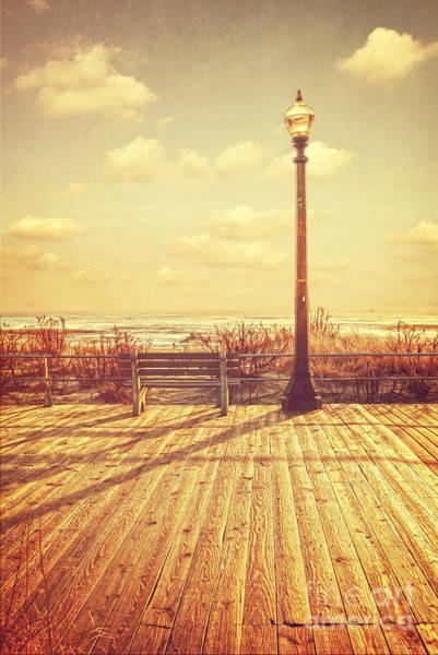 Photograph - Vintage Jersey Shore Morning by Debra Fedchin