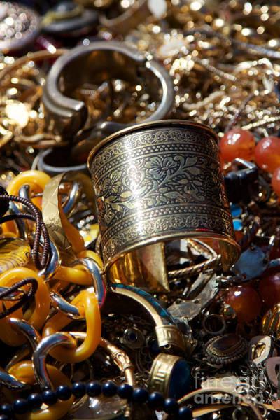 Jewelery Photograph - Vintage Jewlery by Jannis Werner