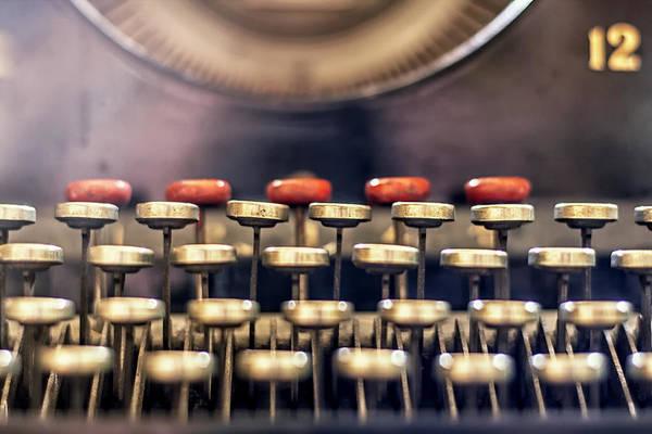 Remington Photograph - Vintage Keys by Georgia Fowler
