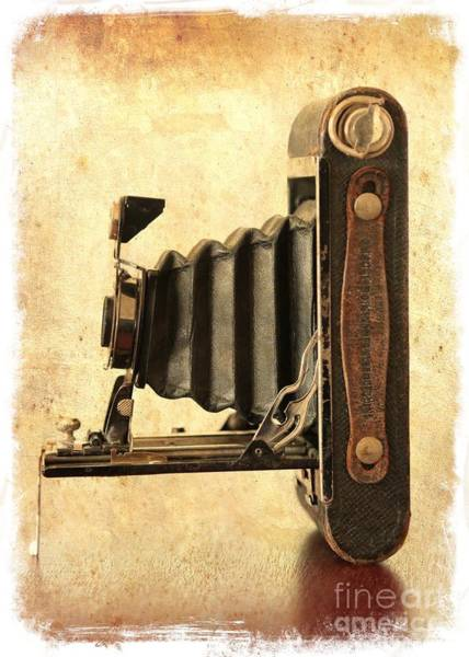 Photograph - Vintage Kodak Camera by Carol Groenen