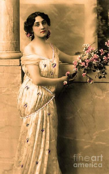 Photograph - Vintage Lady I  by Lesa Fine