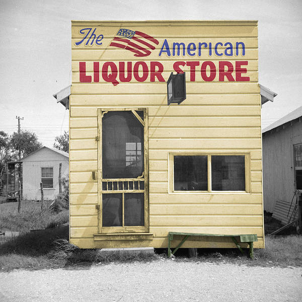 Photograph - Vintage Liquor Store by Andrew Fare