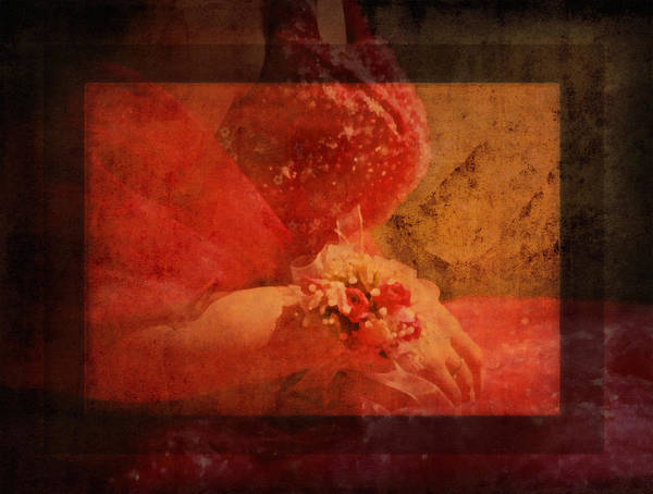 Passionate Photograph - Vintage Memories Of First Love by Isabella Howard