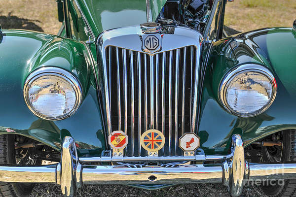 Photograph - Vintage Mg by Dale Powell