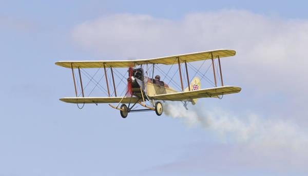 Bleriot Photograph - Vintage Military Plane by Maj Seda