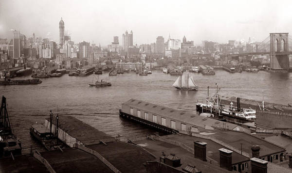 Photograph - Vintage New York 2 by Andrew Fare