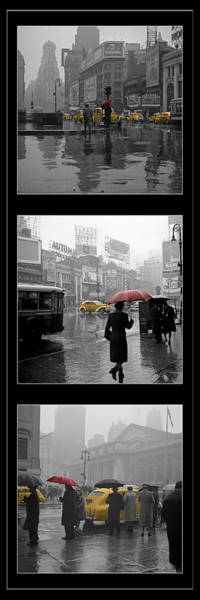 Photograph - Vintage New York Montage by Andrew Fare