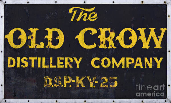 The Southern Company Photograph - Vintage Old Crow - D008693 by Daniel Dempster