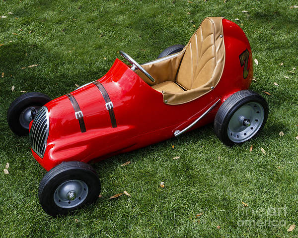 Pedal Car Wall Art - Photograph - Vintage Pedal Car by Dennis Hedberg
