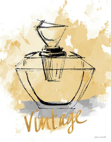 Fashion Painting - Vintage Perfume by Lanie Loreth