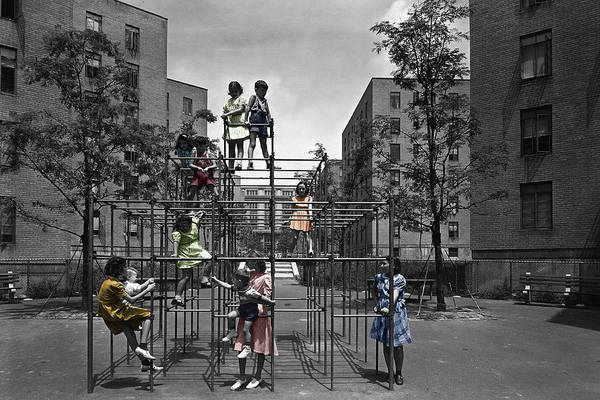 Photograph - Vintage Playground by Andrew Fare