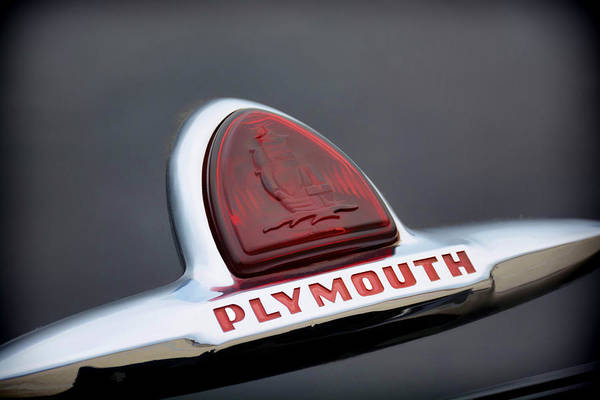 Photograph - Vintage Plymouth Sailing Ships Emblem  by Jeanne May