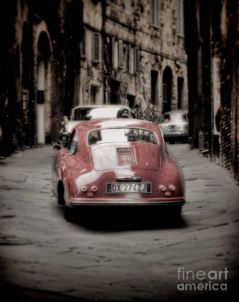 Sienna Photograph - Vintage Porsche by Karen Lewis
