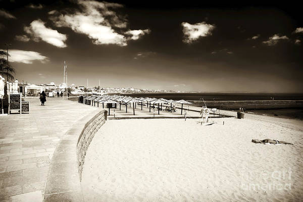 Photograph - Vintage Portugal Beach by John Rizzuto