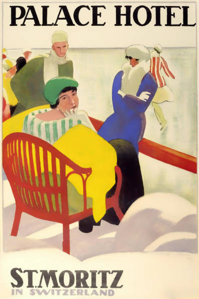 Brochure Drawing - Vintage Poster 1936 by Mountain Dreams