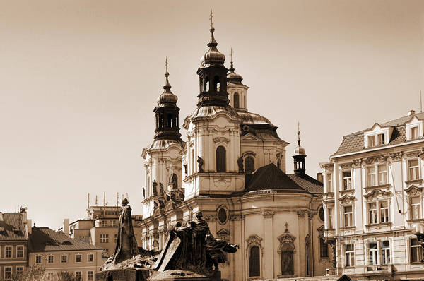 Photograph - Vintage Prague by Brenda Kean