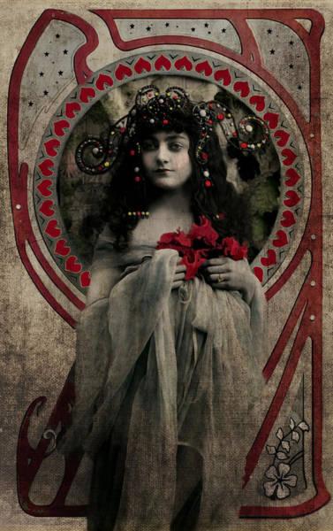 Photograph - Vintage Princess Red by Lesa Fine