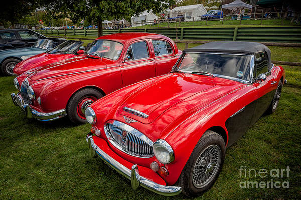Healey Photograph - Vintage Red by Adrian Evans