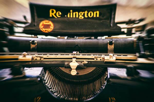 Remington Photograph - Vintage Remington by Georgia Fowler