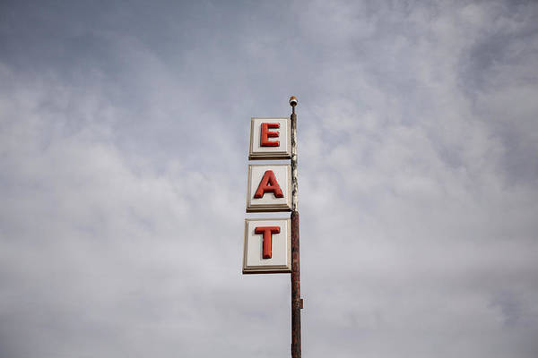 Photograph - Vintage Road Sign by Bill Hornstein
