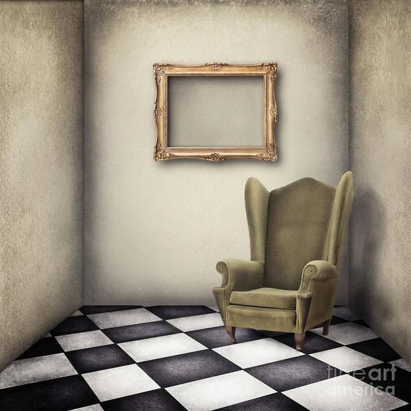 Wall Art - Digital Art - Vintage Room by Jelena Jovanovic