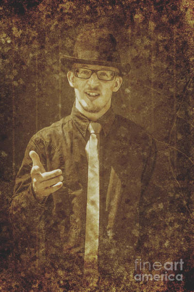 Photograph - Vintage Salesman by Jorgo Photography - Wall Art Gallery