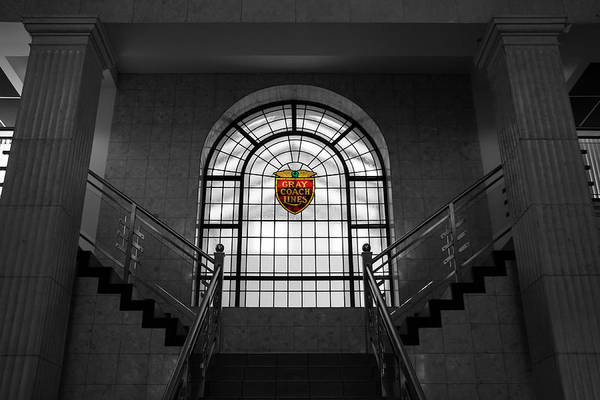Photograph - Vintage Stained Glass 2 by Andrew Fare