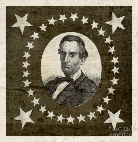 Wall Art - Photograph - Vintage Star Spangled Abraham Lincoln by John Stephens