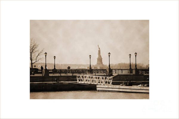 Photograph - Vintage Statue Of Liberty View by RicardMN Photography