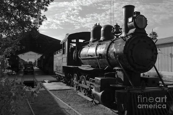 Photograph - Vintage Steam Engine At Tacna by James Brunker