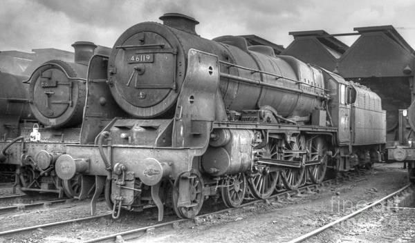 Photograph - Vintage Steam Locomotive 46119 by David Birchall