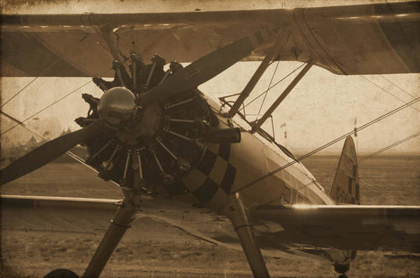 Photograph - Vintage Stearman by Doug Matthews