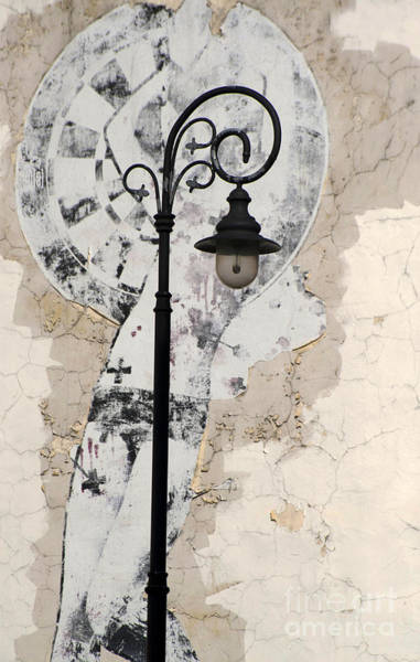 Wall Art - Photograph - Vintage Street Lamp With Ornaments by Jaroslaw Blaminsky