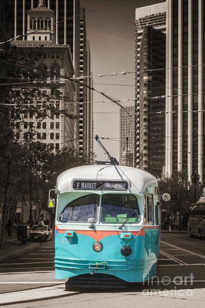 Wall Art - Photograph - Vintage Streetcar San Francisco by Colin and Linda McKie