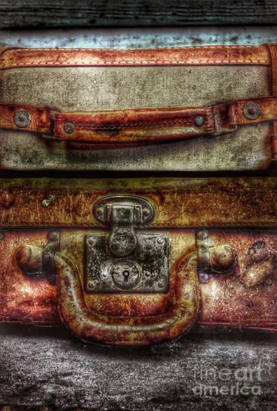 Wall Art - Photograph - Vintage Suitcases by Jill Battaglia