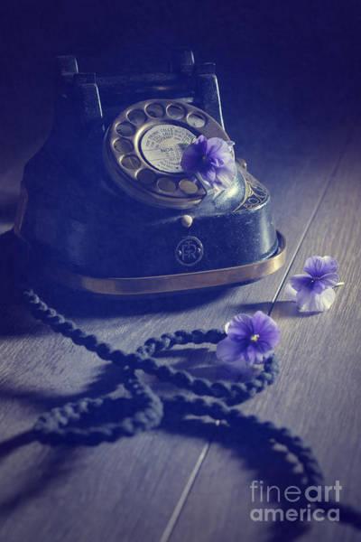 Dials Photograph - Vintage Telephone by Amanda Elwell