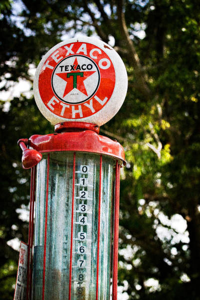 Vintage Texaco Gas Pump Art Print