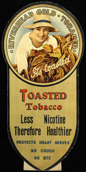 Photograph - Vintage Tobacco Ad by Andrew Fare