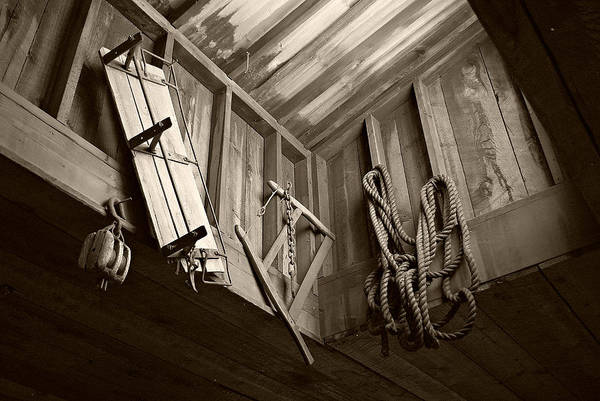 Photograph - Vintage Tools - Sepia by Marilyn Wilson