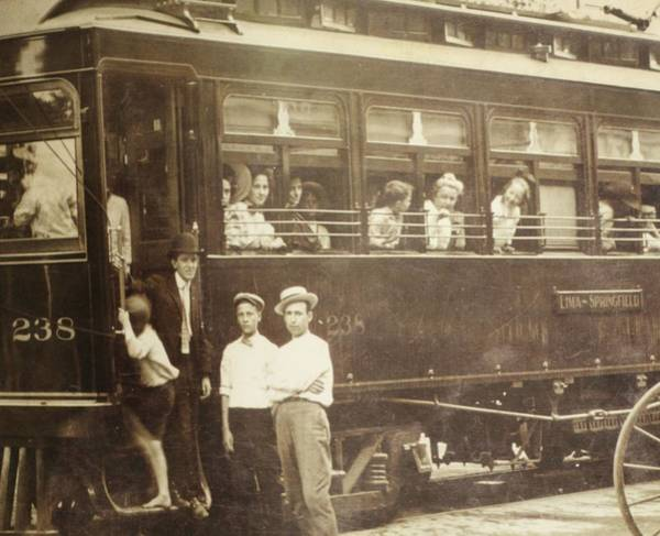 Photograph - Vintage Train All Aboard by Dan Sproul
